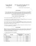 Quyết định 892/QĐ-UBND năm 2013