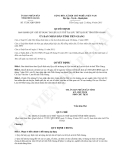 Quyết định 37/2013/QĐ-UBND tỉnh Tiền Giang