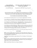 Quyết định 46/2013/QĐ-UBND bổ sung Quyết định 54/2011/QĐ-UBND