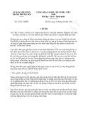 Chỉ thị 22/CT-UBND năm 2013