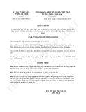 Quyết định 32/2013/QĐ-UBND tỉnh Nam Định