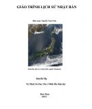 Giáo trình Lịch sử Nhật Bản: Quyển hạ - Phần 1