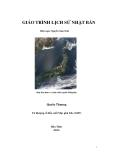 Giáo trình Lịch sử Nhật Bản: Quyển thượng: Phần 1