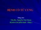 Bài giảng Bệnh cổ tử cung - Ths.Bs. Nguyễn Thị Thơm