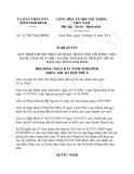 Nghị quyết 11/2013/NQ-HĐND tỉnh Ninh Bình