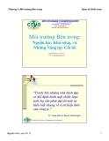 Bài giảng Quản trị chiến lược: Chương 3 - TS Nguyễn Hữu Lam