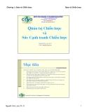 Bài giảng Quản trị chiến lược: Chương 1 - TS Nguyễn Hữu Lam