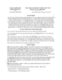 Quyết định 09/2013/QĐ-UBND sửa đổi Quyết định 20/2012/QĐ-UBND