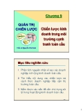 Bài giảng Quản trị chiến lược kinh doanh: Chương 9 - TS. Nguyễn Văn Sơn