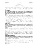 Thẩm định dự án - Bài tập 5