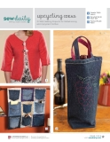 Upcycling Ideas: 3 Free Sewing Projects for Refashioning and Upcycled Clothes
