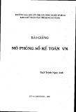 Bài giảng Mô phỏng sổ kế toán Việt Nam - ThS. Trịnh Ngọc Anh