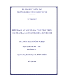Luận văn Thạc sỹ Nông nghiệp: Hiện trạng và giải pháp phát triển sản xuất rau an toàn trên địa bàn Hà Nội