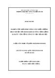 Luận văn Thạc sỹ Quản trị kinh doanh: Nghiên cứu giải pháp nâng cao chất lượng dịch vụ vận tải hành khách công cộng bằng xe buýt của Tổng công ty Vận tải Hà Nội