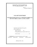 SKKN: Giải một số bài toán về va chạm bằng định luật bảo toàn động lượng và năng lượng