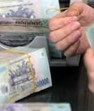 Khóa luận tốt nghiệp: Hiệu quả huy động vốn tiền gửi tại Ngân hàng NN&PTNT Quảng Uyên – Cao Bằng