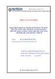 Khóa luận tốt nghiệp: Phát triển dịch vụ thanh toán quốc tế bằng phương thức thư tín dụng tại ngân hàng thương mại cổ phần công thương Việt Nam Vietinbank- chi nhánh 1 TP HCM