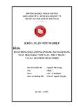 Khóa luận tốt nghiệp: Hoạt động bảo lãnh Ngân hàng tại Ngân hàng xuất nhập khẩu Việt Nam - thực trạng và các giải pháp hoàn thiện