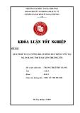 Khóa luận tốt nghiệp: Giải pháp tăng cường huy động vốn tại Ngân hàng thương mại cổ phần Sài Gòn Thương Tín