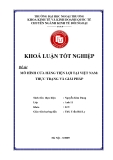 Khóa luận tốt nghiệp: Mô hình cửa hàng tiện lợi tại Việt Nam: Thực trạng và giải pháp