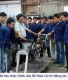 Báo cáo thực tập ngành Cơ khí động lực
