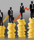 Luận án Tiến sĩ: Nâng cao hiệu quả sử dụng vốn của các ngân hàng thương mại trên địa bàn Hà Nội trong tiến trình hội nhập quốc tế