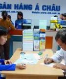 Luận án Tiến sĩ Kinh tế: Phát triển hoạt động bán lẻ tại các ngân hàng thương mại Việt Nam