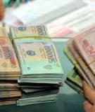 Luận án Tiến sĩ Kinh tế: Hiệu quả dự án đầu tư bằng vốn ngân sách nhà nước trên địa bàn tỉnh Bắc Giang