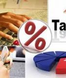 Luận án Tiến sĩ Kinh tế: Quản lý thuế ở Việt Nam trong điều kiện hội nhập kinh tế quốc tế