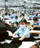 Luận án Tiến sĩ Kinh tế: Giải pháp nâng cao chất lượng tăng trưởng công nghiệp Việt Nam trong quá trình hội nhập quốc tế (nghiên cứu điển hình ngành dệt may)