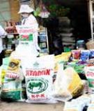 Luận án Tiến sĩ Kinh tế: Xác định hàm cầu nhập khẩu vật tư nông nghiệp của Việt Nam trong thời kỳ đổi mới (lấy ví dụ phân bón Urê)