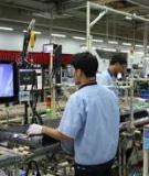 Luận án Tiến sĩ Kinh tế: Công nghiệp hỗ trợ ngành điện tử gia dụng