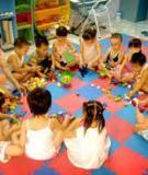 Sáng kiến kinh nghiệm: Một số biện pháp nâng cao chất lượng chăm sóc giáo dục trẻ độ tuổi 24 – 36 tháng