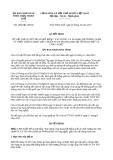 Quyết định 1966/QĐ-UBND năm 2013