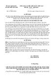 Quyết định 3176/QĐ-UBND năm 2013