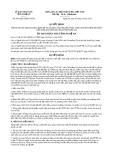 Quyết định 4397/QĐ.UBND-CNTM năm 2013