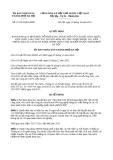 Quyết định 47/2013/QĐ-UBND thành phố Hà Nội