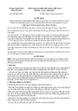 Quyết định 1586/QĐ-UBND năm 2013 tỉnh Yên Bái