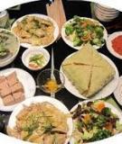 Luận văn tốt nghiệp: Những yếu tố ảnh hưởng đến văn hóa ẩm thực Việt Nam