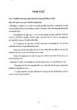 Đồ án tốt nghiệp: Nghiên cứu ứng dụng malt thóc trong đồ uống có cồn