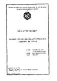 Đồ án tốt nghiệp: Nghiên cứu sản xuất lạp xưởng chua tại công ty Vissan