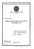 Đồ án tốt nghiệp: Tổng quan tài liệu về sản xuất dầu thực vật