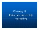 Bài giảng Quản trị Marketing: Chương 3 - GV. Hoàng Thị Huệ