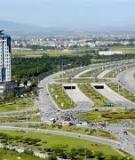 Luận án Tiến sĩ Kinh tế: Mô hình nghiên cứu tác động của mạng lưới giao thông đường bộ đến phát triển kinh tế - xã hội của vùng kinh tế trọng điểm Bắc Bộ