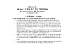 Bài giảng Quản trị ngân hàng - Chương 3: Quản lý rủi ro thị trường