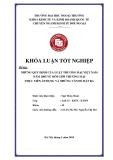Khóa luận tốt nghiệp: Những quy định của luật thương mại Việt Nam năm 2005 về môi giới thương mại thực tiễn áp dụng và những vấn đề đặt ra