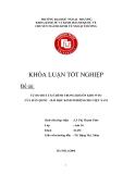 Khóa luận tốt nghiệp: Tự do hóa tài chính trong khuôn khổ WTO của Hàn Quốc - Bài học kinh nghiệm cho Việt Nam