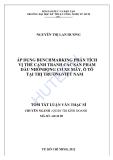 Tóm tắt luận văn thạc sĩ: Áp dụng Benchmarking phân tích vị thế cạnh tranh của các sản phẩm dầu nhờn động cơ xe máy, ô tô tại thị trường Việt Nam