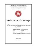 Khóa luận tốt nghiệp: Đầu tư trực tiếp của Hàn Quốc vào lĩnh vực bất động sản Việt Nam