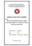 Khóa luận tốt nghiệp: Thực trạng kinh doanh và triển vọng phát triển của chuỗi cửa hàng một giá tại Hà Nội